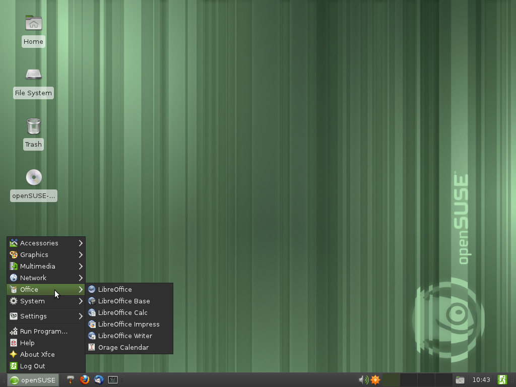 114 screenshots xfce filemanager configuration.png